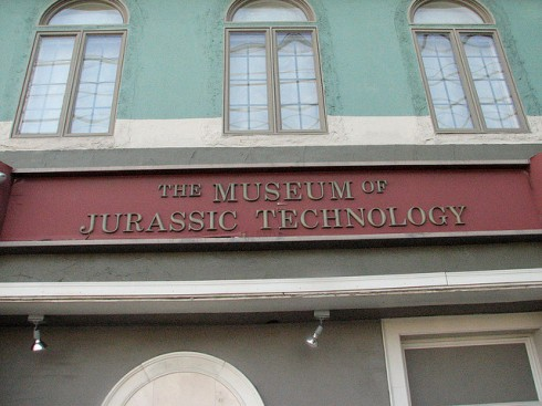 Museum Sign by Barry M